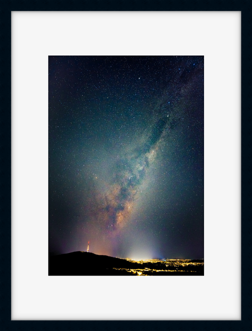 Milky Way above Telstra Tower