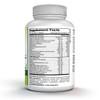 Ingredients panel for Treasured Locks H2G Hair Vitamins