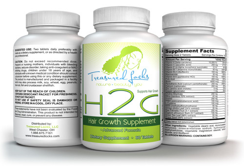 Treasured Locks H2G Hair Vitamins
