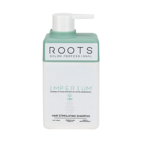 Roots Salon Professional Imperium Hair Stimulating Shampoo with CBD