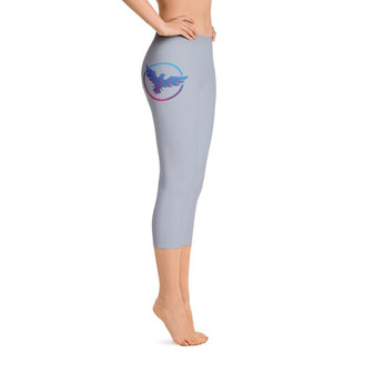All Day Comfort Capri Leggings Pacific Supply II Grey