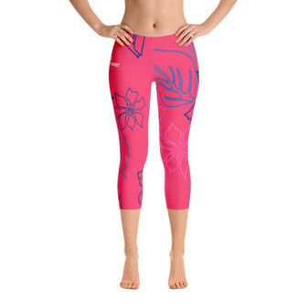 All Day Comfort a L O H a Capri Leggings