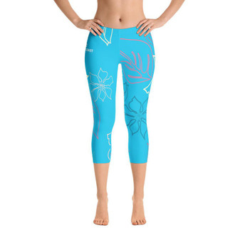 All Day Comfort a L O H a Capri Leggings (v. 55358f4a#1)