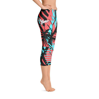 All Day Comfort Capri Leggings Coronado