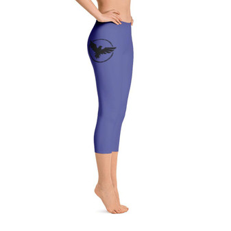 All Day Comfort Capri Leggings Pacific Supply II Medium Blue