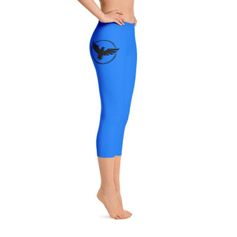 All Day Comfort Capri Leggings Pacific Supply II Light Blue
