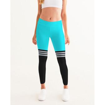 Women's Active Comfort Pacific Supply Stripe Sport Yoga Pant (v. d78afb0a#1)