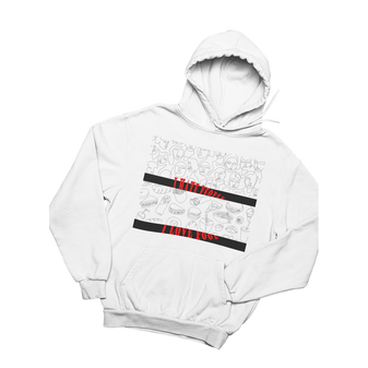 Hate People Luv Food - Hoodie