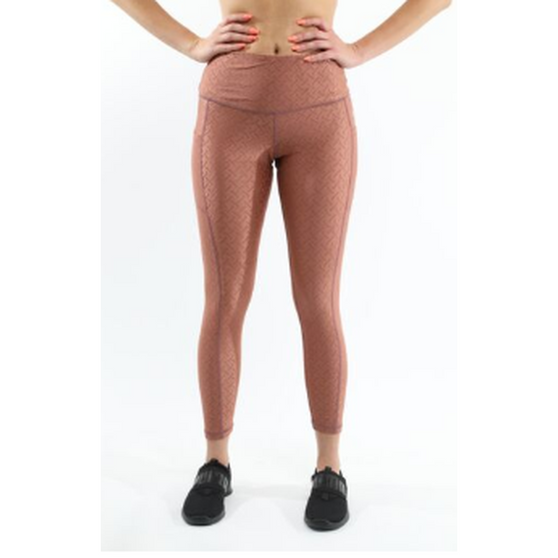 SALE! 50% OFF! Roma Activewear Leggings - Copper [MADE IN ITALY]