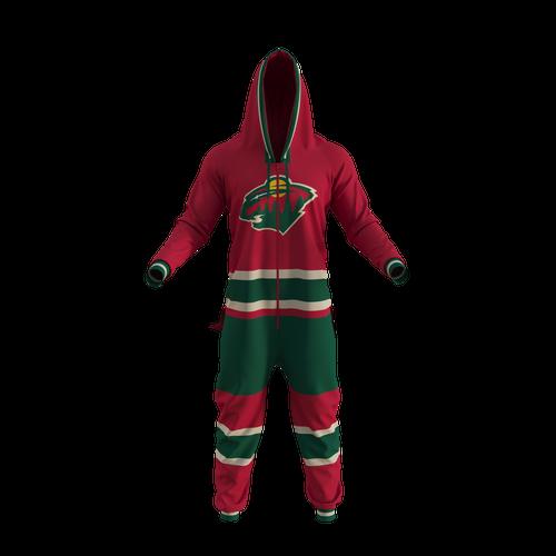Minnesota Wild NHL Onesie