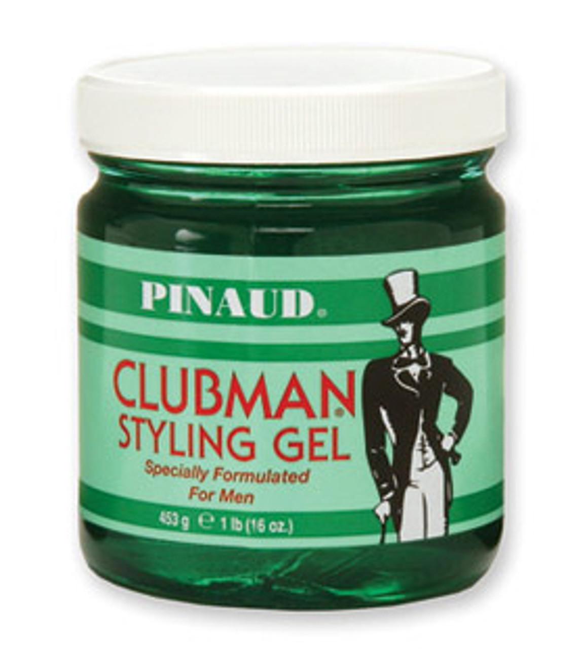 Clubman Styling Gel, Jar, 16 oz. - Hair Styling - Clubman Pinaud