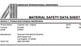 How to Find Pinaud ​Clubman Ingredients or Their Material Data Safety Sheets (MSDS)