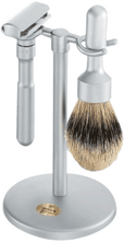 Merkur - 3 pc FUTUR Shave Set, Brushed Finish #782