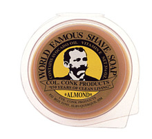 Colonel Conk Almond Shave Soap - Super Bar