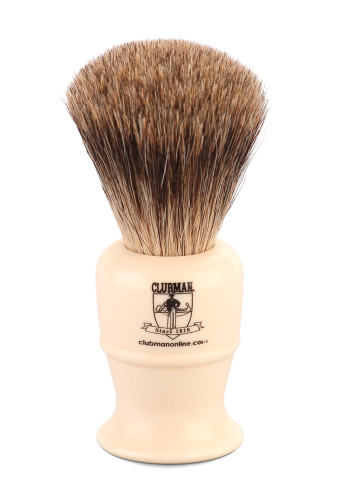 Clubman Online Pure Badger Shave Brush - 115mm