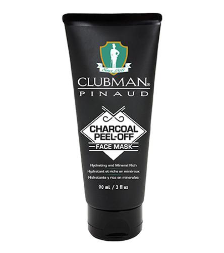 Clubman Charcoal Peel-Off Black Mask 3 oz