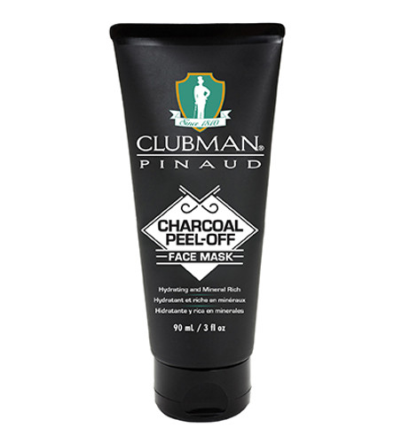 Clubman Charcoal Peel-Off Black Mask 3 oz