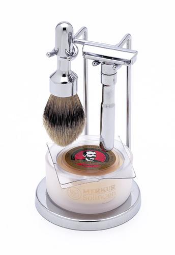 Merkur - 4 pc FUTUR Shave Set, Polished Finish #750