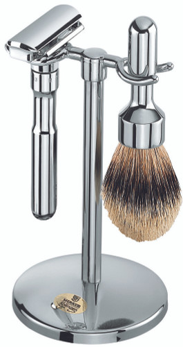 Merkur - 3 pc FUTUR Shave Set, Polished Finish #781