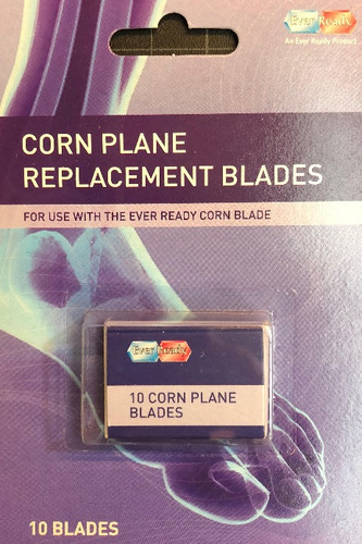 Ever Ready Corn Plane Replacement Blades / 10 pk