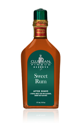 Clubman Reserve - Sweet Rum After Shave Lotion, 6 oz