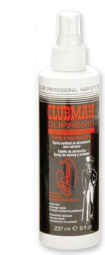 Clubman Supreme Hair Spray, Non-Aerosol Pump, 8 oz