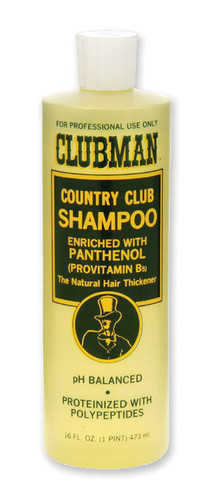 Clubman Country Club Shampoo, 16 oz