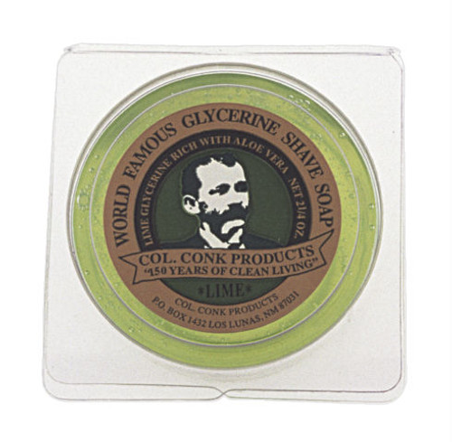 Col. Conk - Lime Shave Soap. 2.25 oz