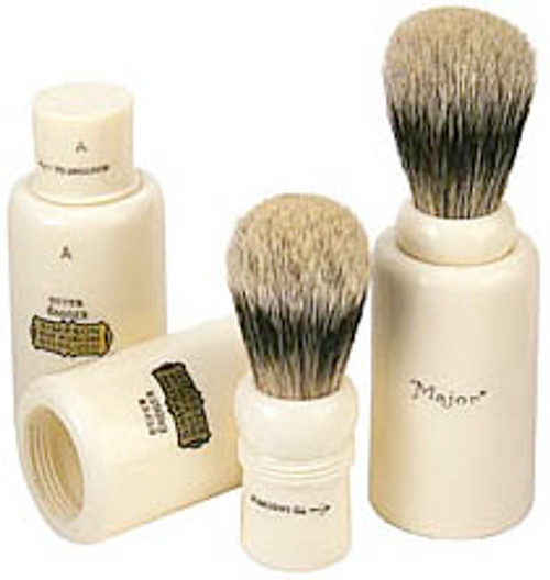Simpsons Major Travel Shave Brush, Best Badger Hair