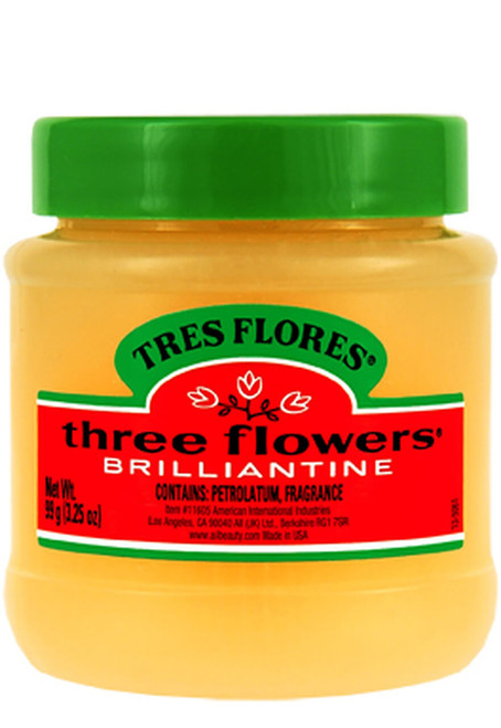 Tres Flores Brilliantine Solid Pomade