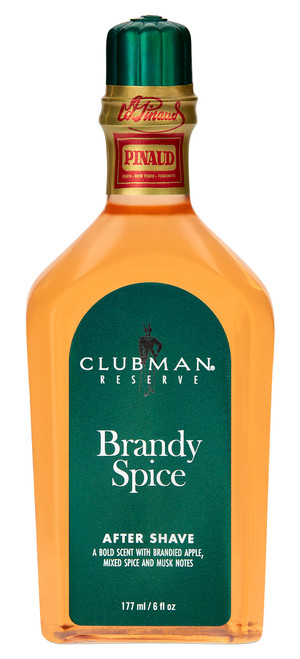 Clubman Reserve - Brandy Spice After Shave Lotion, 6 oz