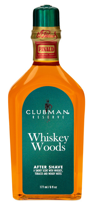 Clubman Reserve - Whiskey Woods After Shave Lotion, 6 oz