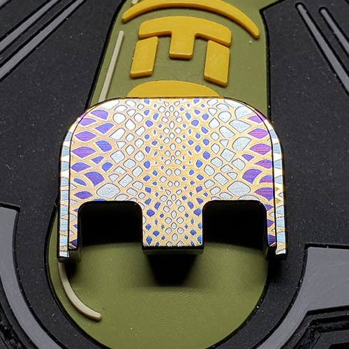 LaserStrike™ Titanium Slide Plate - Scale