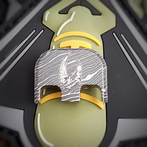 LaserStrike™ Titanium Slide Plate - Mudhorn Beskar Steel