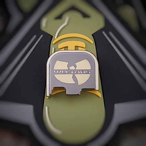 LaserStrike™ Titanium Slide Plate - Wu-Tang Clan (43/43X/48)