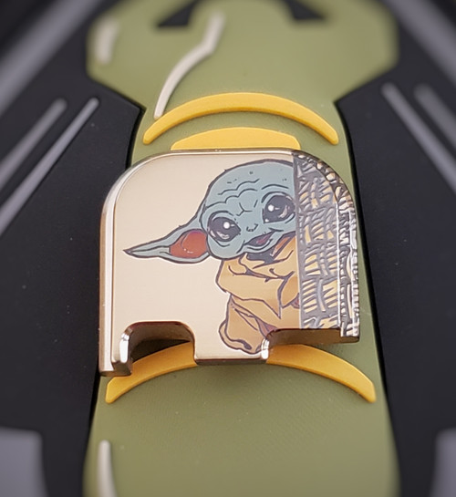 LaserStrike™ Titanium Slide Plate - Smile Child (43/43X/48)