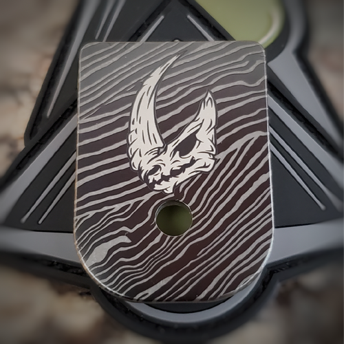 LaserStrike™ Titanium Mag Plate - Mudhorn Beskar