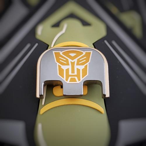 LaserStrike™ Titanium Slide Plate - 'Autobot'