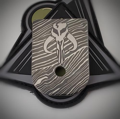 LaserStrike™ Titanium Mag Plate - Mythosaur Beskar