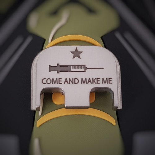 LaserStrike™ Titanium Slide Plate - Come And Make Me