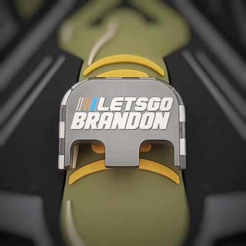 LaserStrike™ Titanium Slide Plate - Let's Go Brandon!