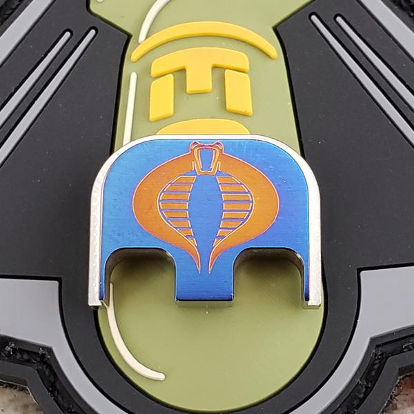 LaserStrike™ Titanium Slide Plate - Cobra