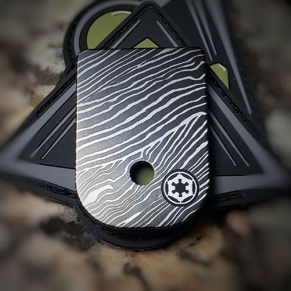 LaserStrike™ Titanium Mag Plate - V2 Beskar