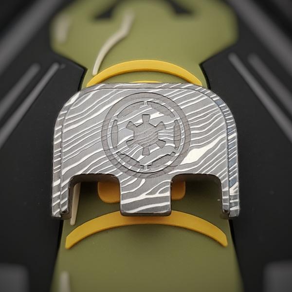 LaserStrike™ Titanium Slide Plate - V3 Beskar