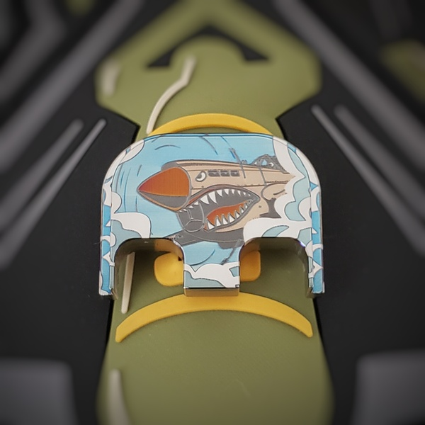 LaserStrike™ Titanium Slide Plate - Warhawk