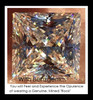 3.81 Benzgem by GuyDesign® Most Believable and Realistic 3.81 Ct. Princess Cut... Designed, Hand Cut, and Polished as Real Diamonds are.