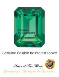 Green Rainforest Topaz, Faceted & Cabochon Loose Gemstones, 10405