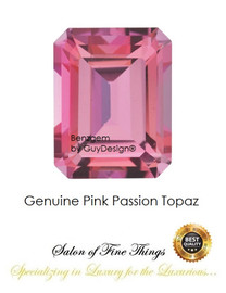Pink Passion Topaz, Faceted & Cabochon Loose Gemstones, 10406