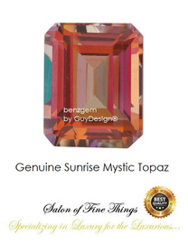 Sunrise Mystic Topaz, Faceted & Cabochon Loose Gemstones, 10407