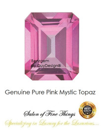 Pure Pink Mystic Topaz, Faceted & Cabochon Loose Gemstones, 10409